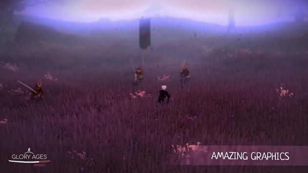 Glory Ages - Samurais تصوير الشاشة 2