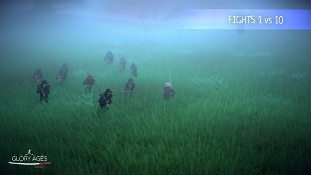Glory Ages - Samurais تصوير الشاشة 6