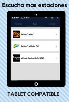 La Ley 102.5 FM screenshot 10
