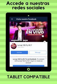 La Ley 102.5 FM screenshot 13
