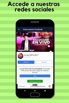 La Ley 102.5 FM screenshot 5