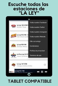 La Ley 102.5 FM screenshot 9