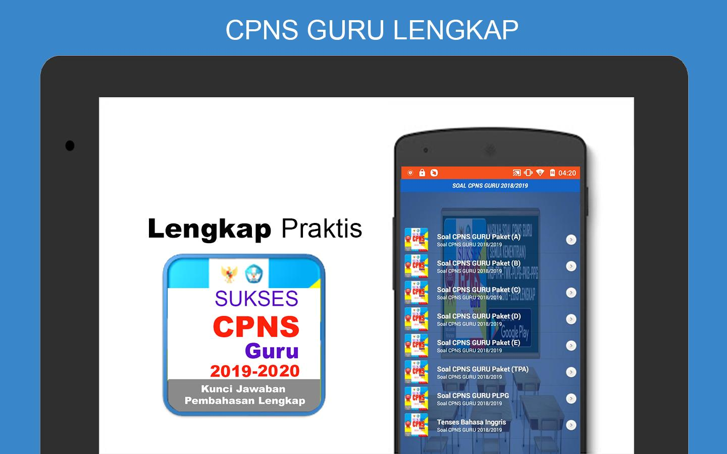 Soal Cpns Guru 2019 2020 For Android Apk Download