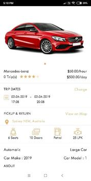 Luxury Car Rental screenshot 3