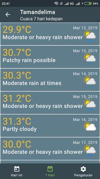Prakiraan Cuaca screenshot 6