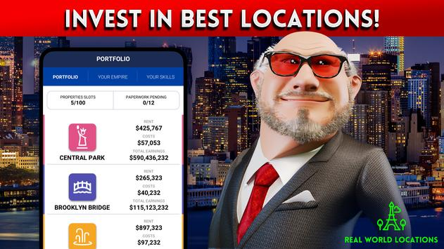 LANDLORD Tycoon Business Simulator Investing Game screenshot 1