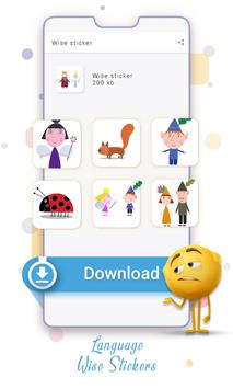 Language wise Stickers for Whatsapp WastickerApp for Android - APK