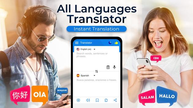 Free Language Translator App - Voice Translate Pro poster