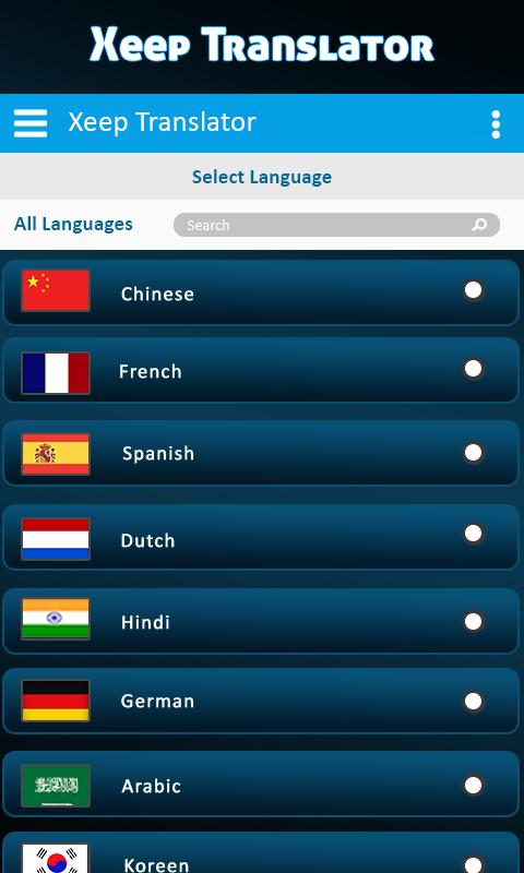 Xeep All Language Translator- Free Chat Translator for Android - APK