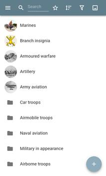Kinds of troops poster