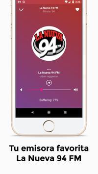 La Nueva 94 FM Puerto Rico Radio 94.7 screenshot 2
