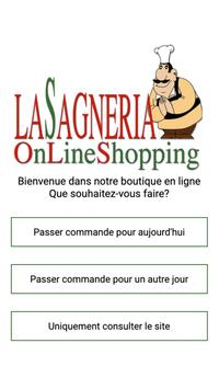 Lasagneria Online Shopping poster