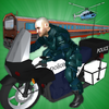 Super Police Hero Gangster Chase Train icon