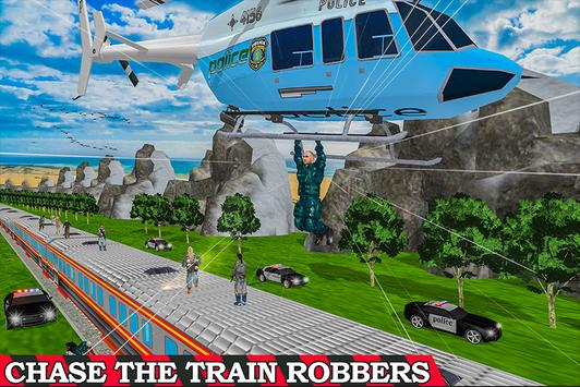 Super Police Hero Gangster Chase Train poster