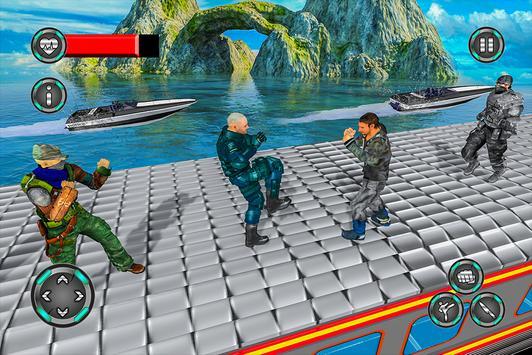 Super Police Hero Gangster Chase Train screenshot 12