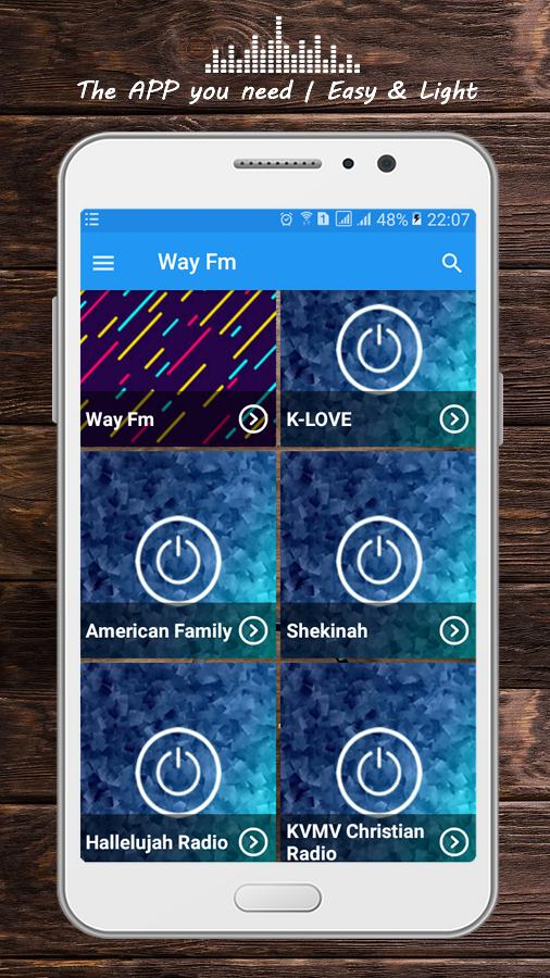 Way Fm Christian Radio App For Android Apk Download