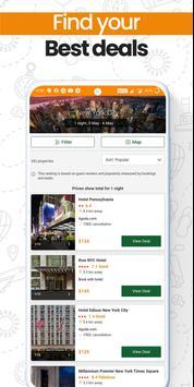 Last-Minute-Hotelbuchungs-App Screenshot 3