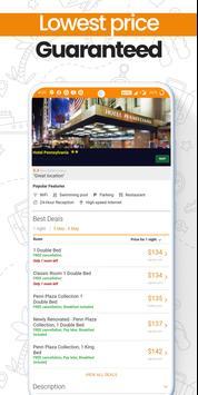 Last-Minute-Hotelbuchungs-App Screenshot 4