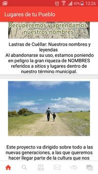 Lastras de Cuéllar. Los Lugares de tu pueblo. screenshot 1