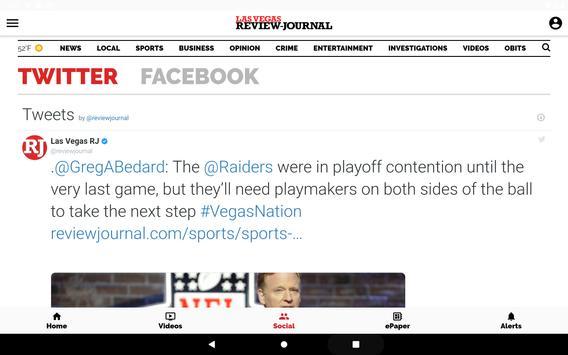 Las Vegas Review-Journal ảnh chụp màn hình 9
