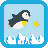 Pinguin flight icon