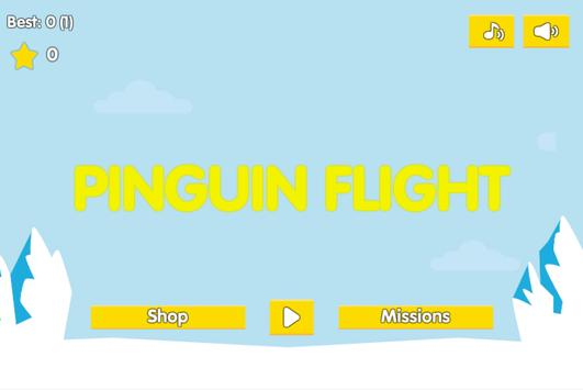 Pinguin flight poster