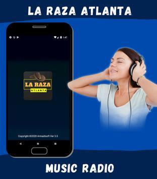 La Raza Atlanta poster