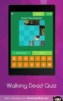 The Walking Dead Quiz screenshot 9