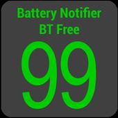 Battery Notifier BT Free icon