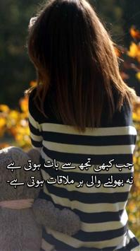 Urdu poetry on picture :Shayari photo editor poster
