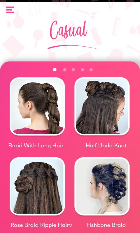 Latest Hairstyles Step By Step Long Short Hair For Android Apk