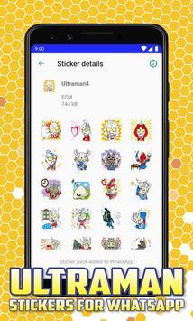 Ultraman Stickers for Whatsapp screenshot 3