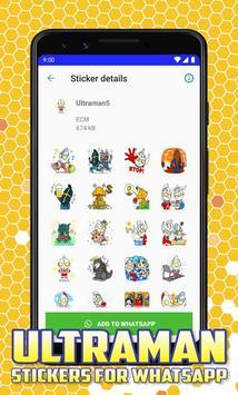 Ultraman Stickers for Whatsapp poster