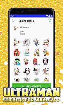 Ultraman Stickers for Whatsapp screenshot 1