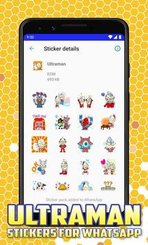Ultraman Stickers for Whatsapp screenshot 4