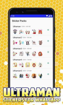 Ultraman Stickers for Whatsapp screenshot 5