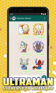 Ultraman Stickers for Whatsapp screenshot 6