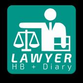 Lawyer Diary - FREE Advocate Diary & Handbook icon