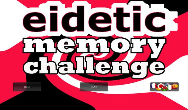 Eidetic Challenge poster