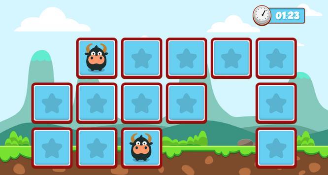 Memory puzzle - kids screenshot 4