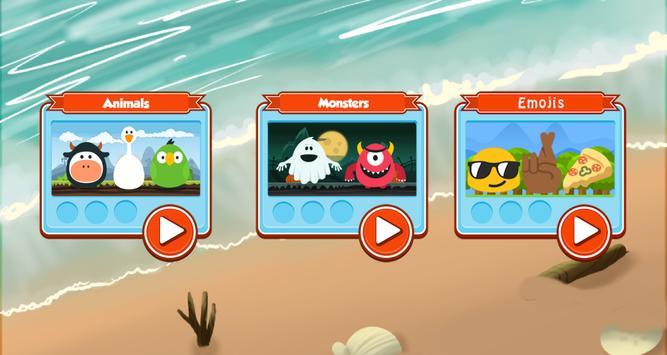 Memory puzzle - kids screenshot 2