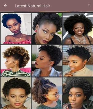 100+ African natural hairstyles collection poster
