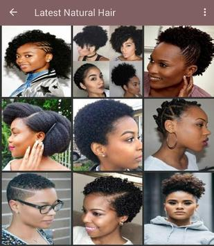 100+ African natural hairstyles collection screenshot 2
