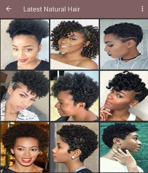 100+ African natural hairstyles collection screenshot 3