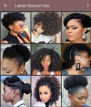 100+ African natural hairstyles collection screenshot 4