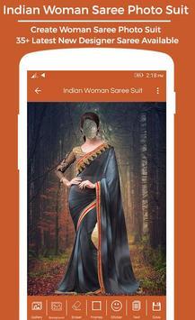 Women Saree Photo Suit : Royal Traditional Suit screenshot 3