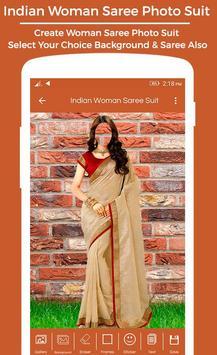 Women Saree Photo Suit : Royal Traditional Suit screenshot 1