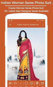 Women Saree Photo Suit : Royal Traditional Suit screenshot 4