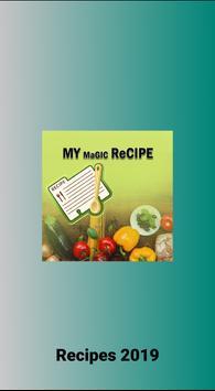 Recipes 2019 poster