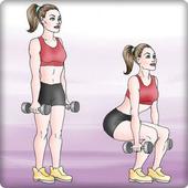 Tập thể dục tại nhà biểu tượng